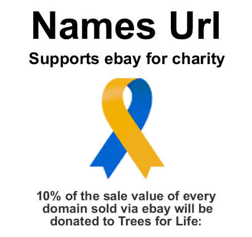 Names Url supports eBay for charity.