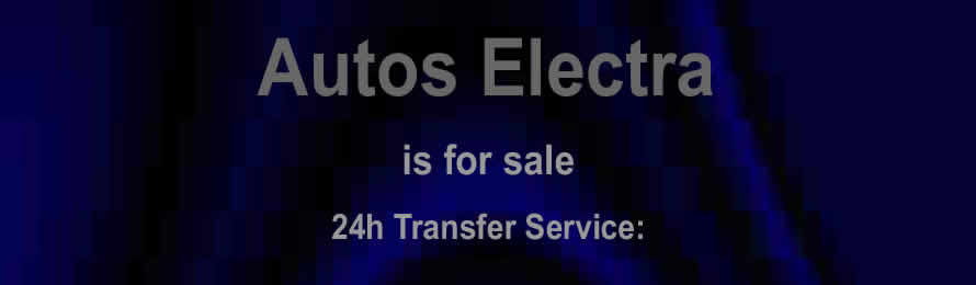 Autos Electra .com is for sale. 10% of the sale value will be donated to Bees for Development Trust, if the domain is purchased via ebay.