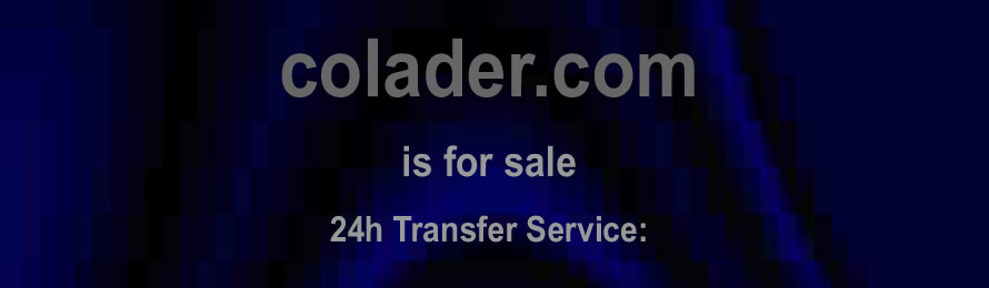 Colader .com is for sale. 10% of the sale value will be donated to Global Hope Network International, when purchased via ebay.