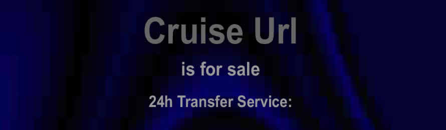 Cruise Url .com is for sale via Names Url .com: - 10% of the sale value will be donated to Just One Ocean, when purchased via ebay.
