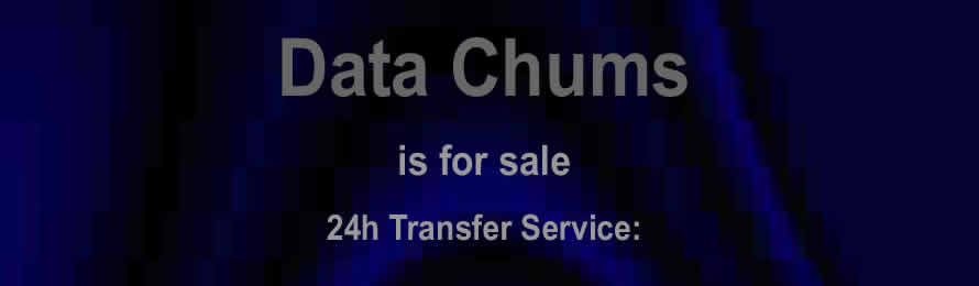 Data Chums .com is for sale via Names Url .com.