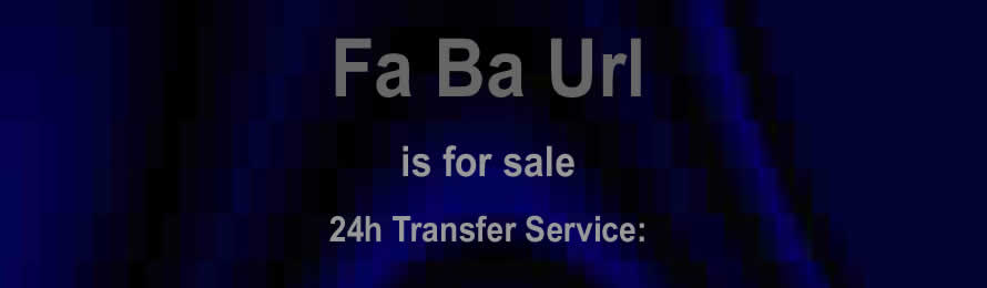 Fa Ba Url .com is for sale via Names Url .com: 10% of the value will be donated to Water Aid, if the domain is purchased via ebay.