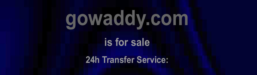 Gowaddy .com is for sale. 10% of the sale value will be donated to Save the Children, when purchased via ebay.