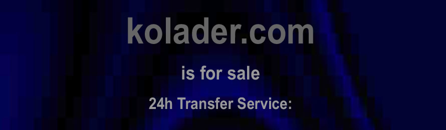 Kolader .com is for sale. 10% of the sale value will be donated to ABF The Soldiers' Charity, when purchased via ebay.