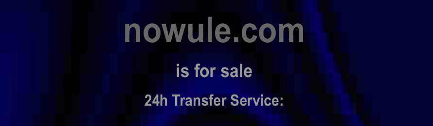 Nowule .com is for sale.