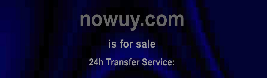 Nowuy .com is for sale. 10% of the sale value  will be donated to Wild Futures, when purchased via ebay